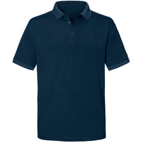 Schöffel Brisbane Polo Shirt Men, moonlit ocean